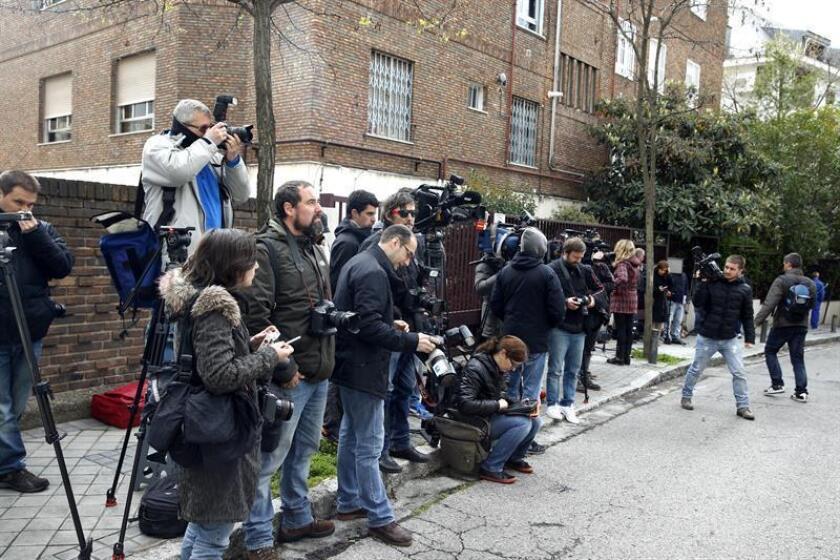 Por segundo año consecutivo, el número de periodistas en prisión batió el récord histórico, con Turquía, China y Egipto como los países con el mayor número de encarcelados, según un informe del Comité para la Protección de Periodistas (CPJ). EFE/ARCHIVO
