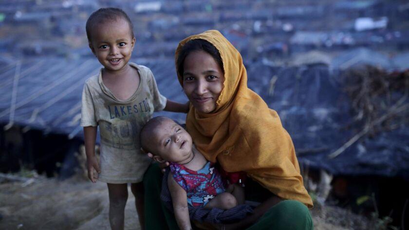 Rohingya refugees in Bangladesh, Ukhiya - 15 Sep 2017