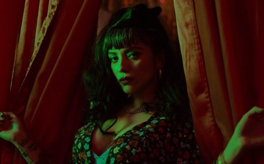 La cantante chilena Mon Laferte en una nueva imagen promocional.