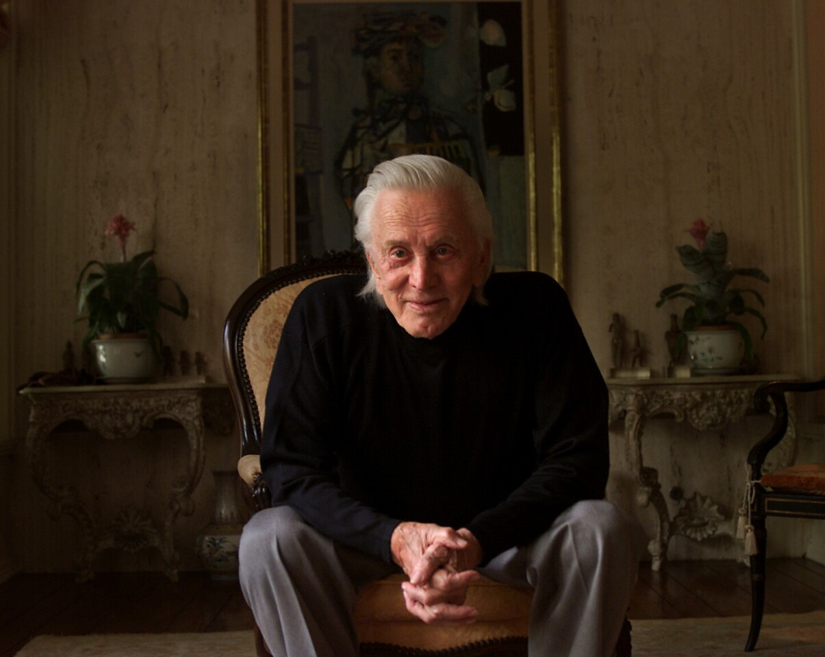 Kirk Douglas, born in 1916 as Issur Danielovitch, is acclaimed as one of the greatest male actors in cinema history. Garnering three Academy Award nominations and one Golden Globe award, Douglas' film career spanned over 60 years.