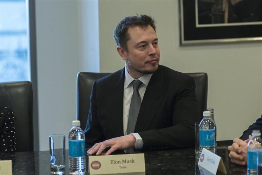 El consejero delegado de la compañía Tesla, Elon Musk. EFE/Archivo