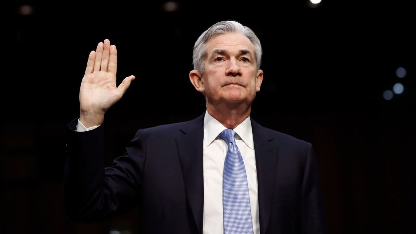 Jerome H. Powell is President Trump's nominee for chairman of the Federal Reserve.