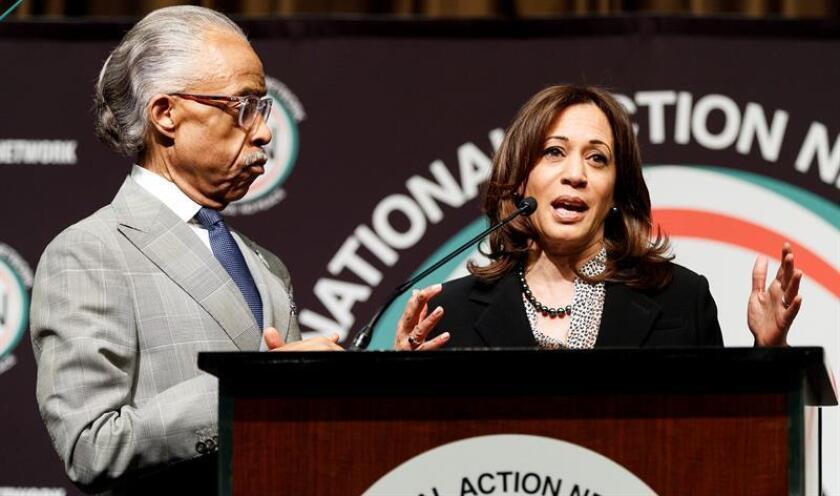 """Kamala Harris anuncia plan para dar una vía a la ciudadanía a los """"soñadores"""""""