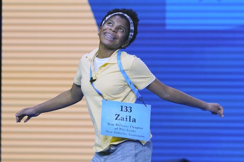 Zaila Avant-garde, 14, from Harvey, Louisiana