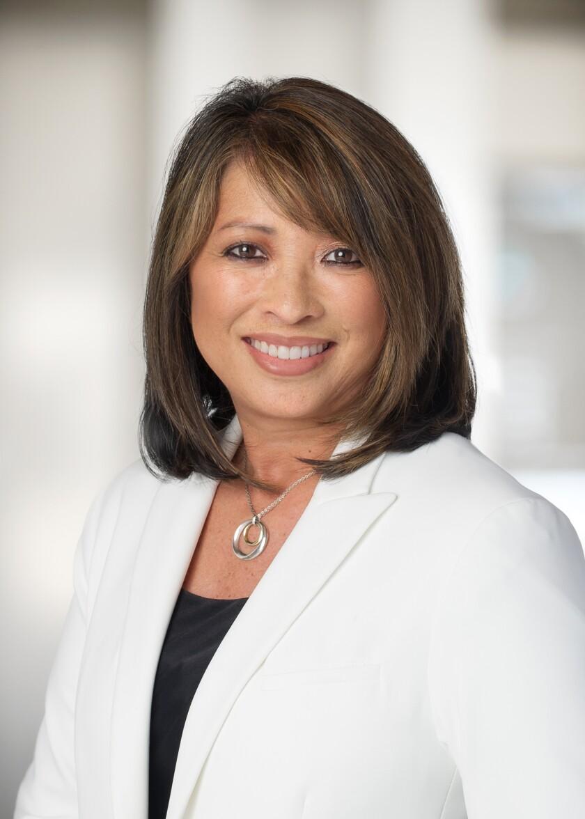 Caroline Winn, appointed CEO of San Diego Gas & Electric, effective Aug. 1.