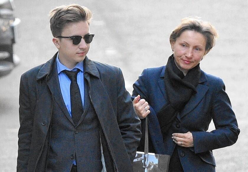 Anatoly and Marina Litvinenko