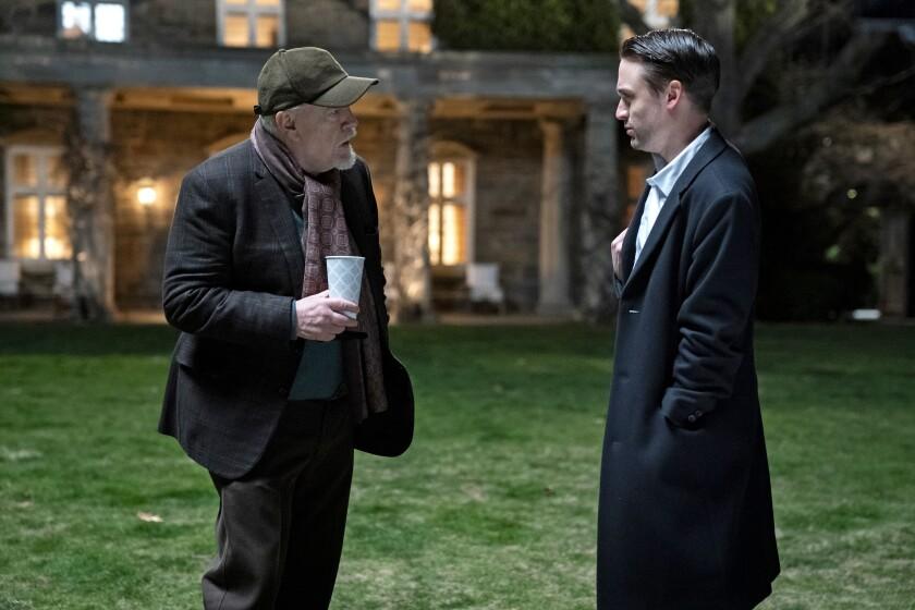 """Brian Cox and Kieran Culkin in HBO's """"Succession."""""""