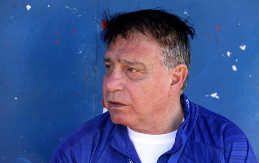 El entrenador Éver Hugo Almeida. EFE/Archivo