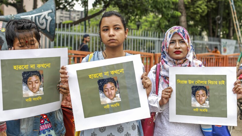 BANGLADESH-ASSAULT-GENDER