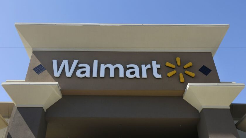 This 2013 file photo shows a Wal-Mart store in San Jose, Calif.