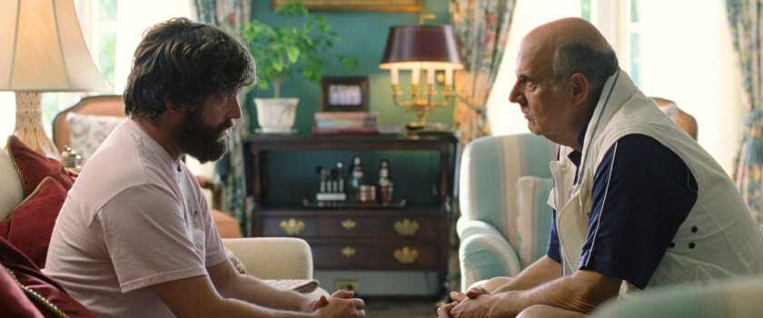 "Zach Galifianakis and Jeffrey Tambor in  ""The Hangover Part III."""