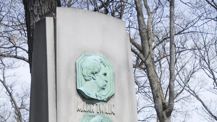 Mark Twain plaque