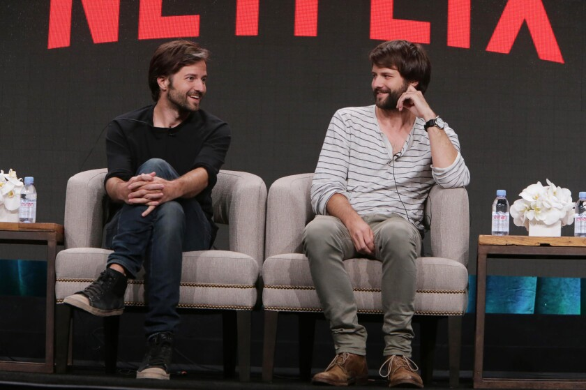 "Creators of ""Stranger Things"" Matt Duffer and Ross Duffer discuss what they have planned for a possible second season on Netflix, during the 2016 Television Critics Assn. summer press tour."