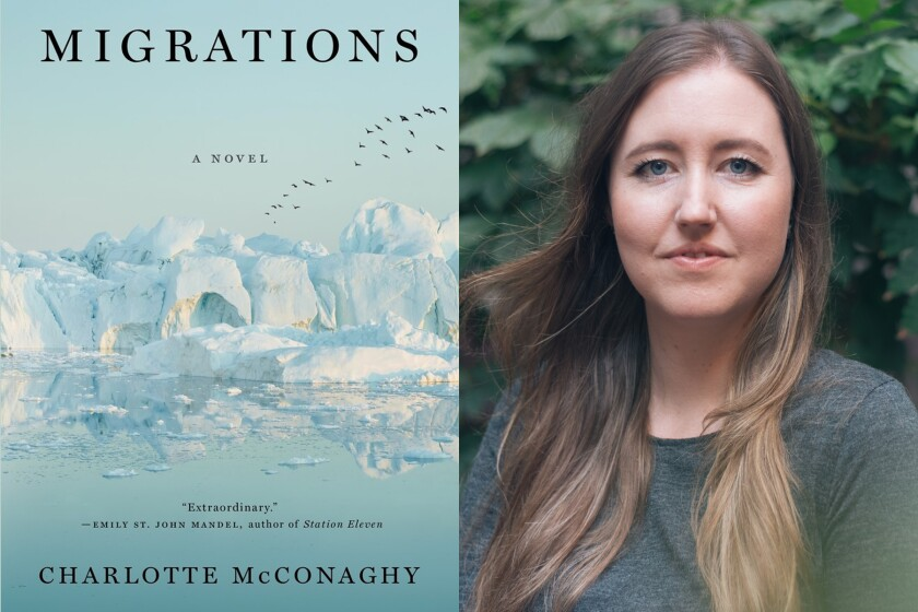 """""""Migrations"""" author Charlotte McConaghy"""