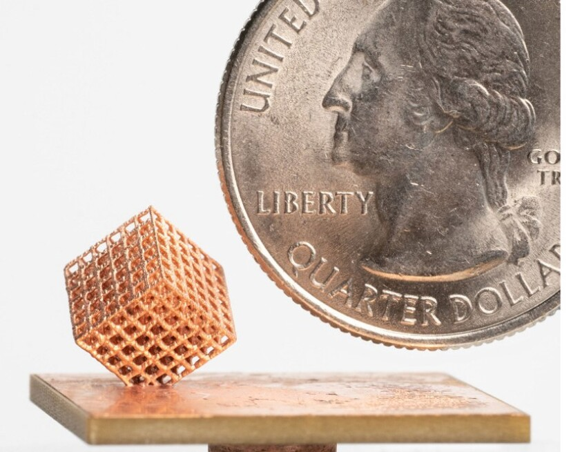 Fabric8Labs has developed new approach to metal 3D printing.