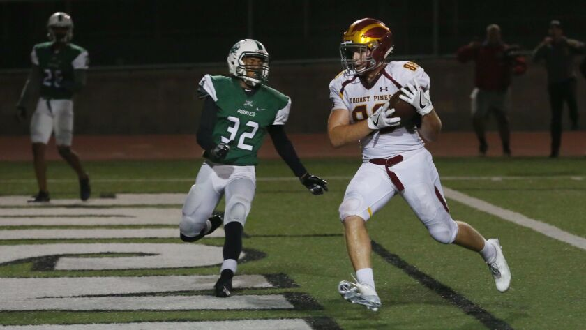 """Torrey Pines' Michael Gadinis (right) says the team has """"cleaned up a lot of things"""" since losing to SFC."""