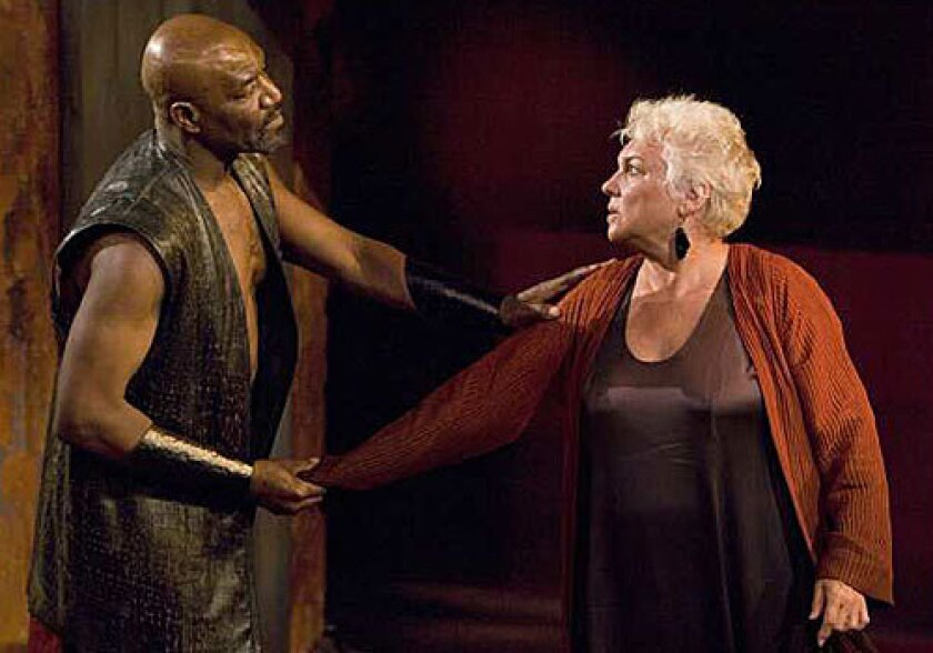 Tragedy in the family: 'Agamemnon' - Los Angeles Times