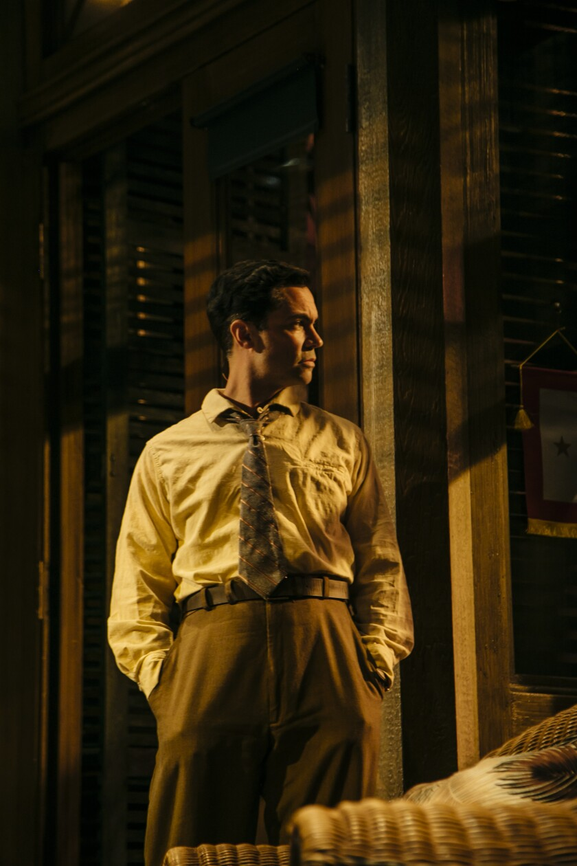 "Danny Pino in ""Key Largo"" at the Geffen Playhouse."
