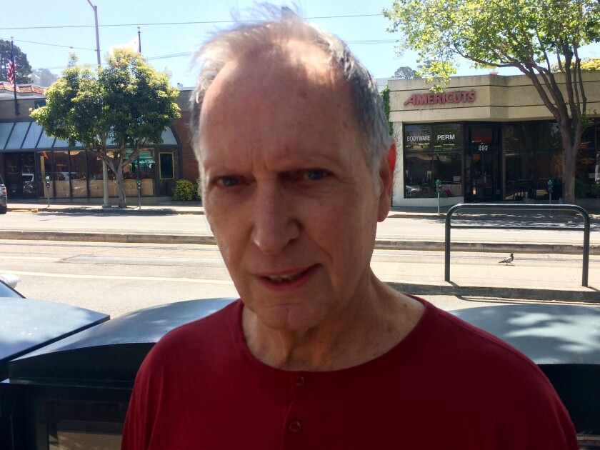 Jim Knoll, a retired cosmetics salesman in San Francisco, said the next governor should stay on the