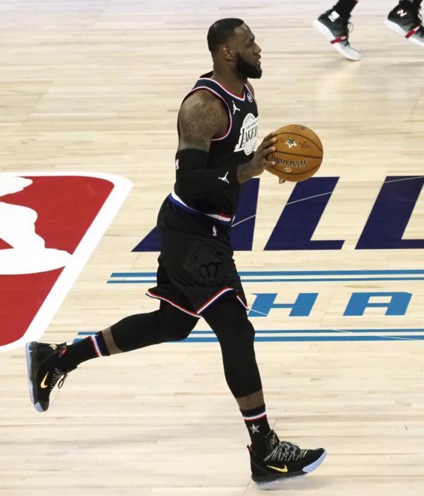 El jugador de los Lakers, LeBron James. EFE/Archivo
