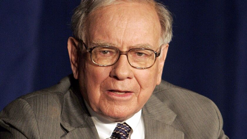 Warren Buffett says he was lucky he was born white, healthy, smart and living in America.