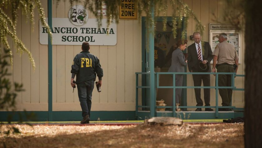Four people were killed and nearly a dozen were wounded, including several children, when a gunman went on a rampage at multiple locations, including a school in Northern California.