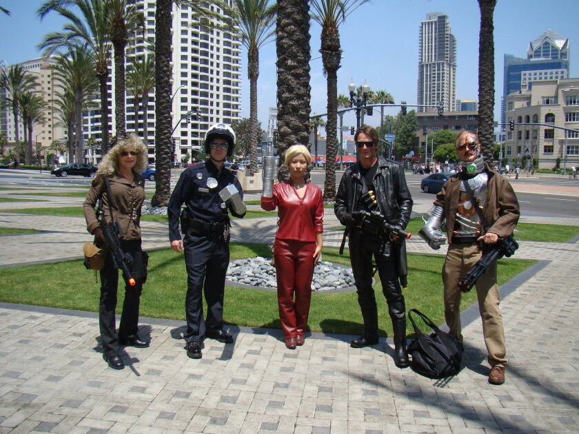 Terminators of all kinds were the theme for 2009.