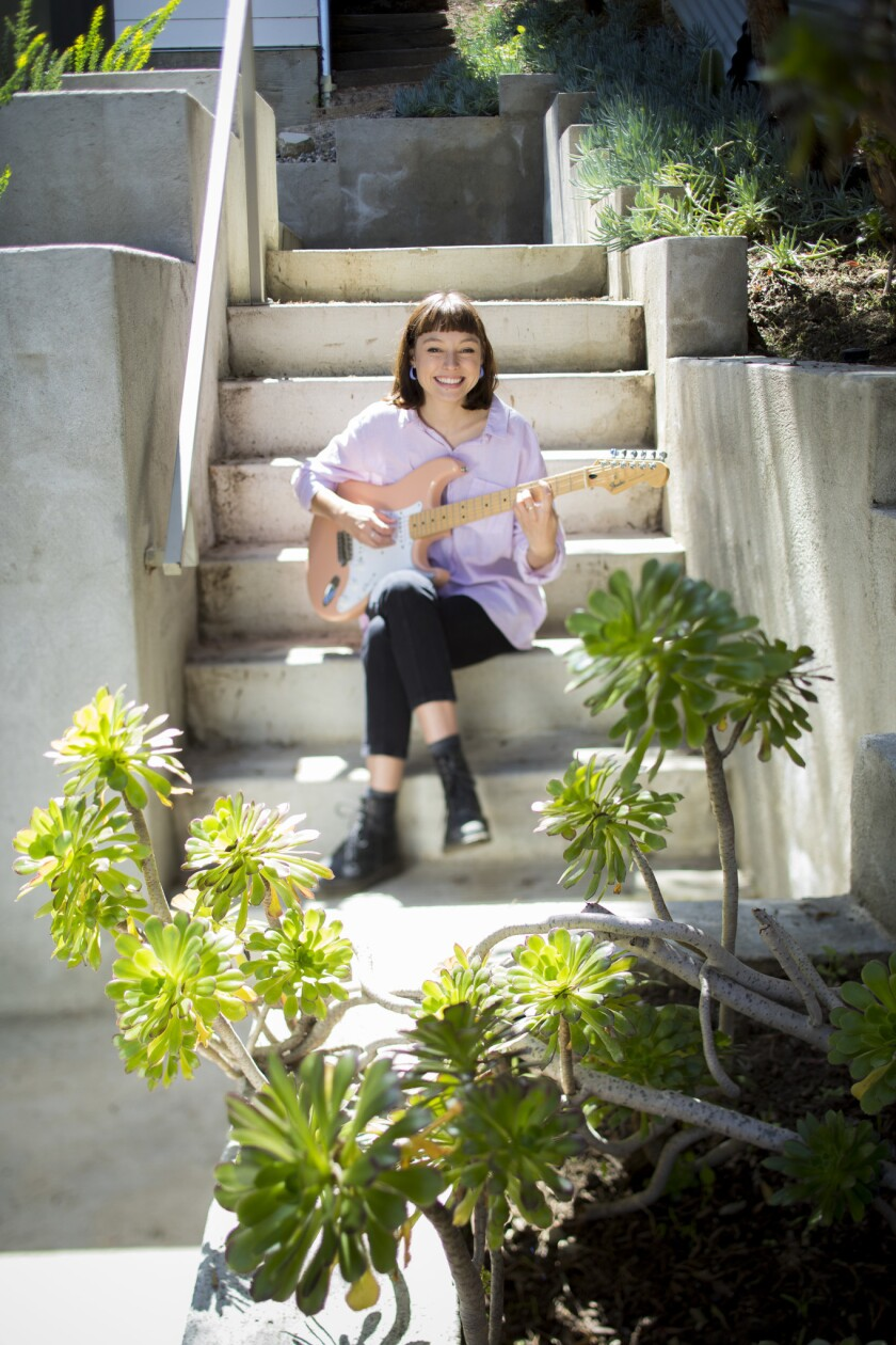LOS ANGELES,CA --MONDAY, MARCH 26, 2018--Australian musician Stella Donnelly is photographed before