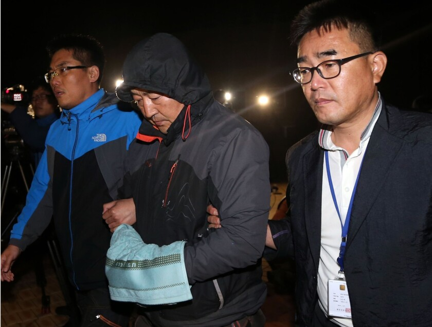 South Korea ferry sinks