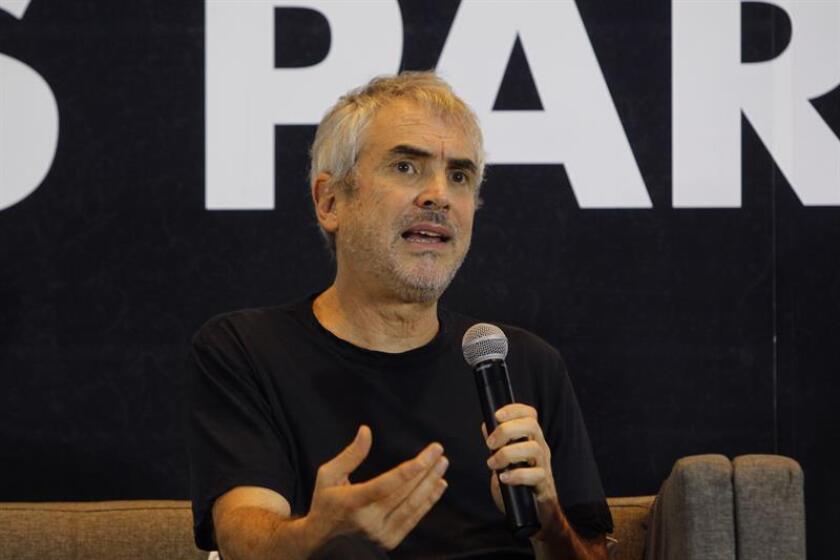Fotografía del director de cine mexicano Alfonso Cuarón. EFE/Archivo