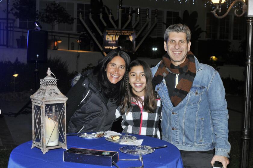 Maria, Sammy, and Peter Schwartz