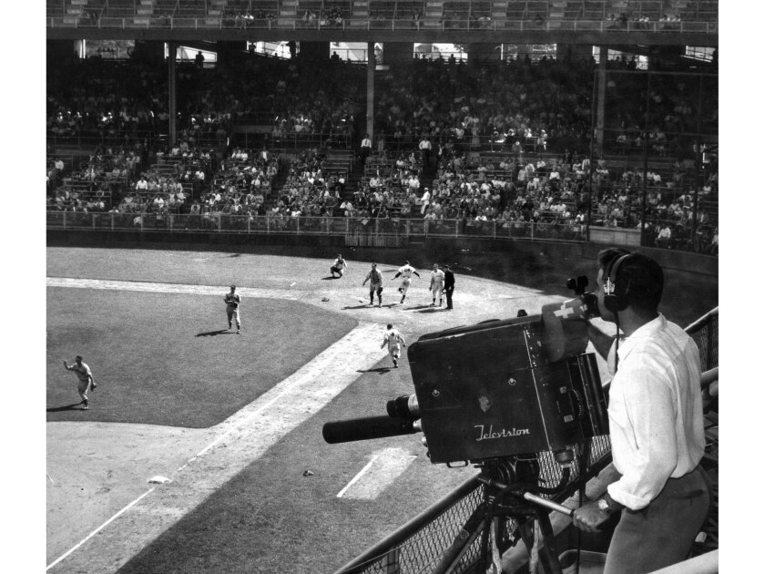 From the Archives: Televising 1948 Los Angeles Angels baseball