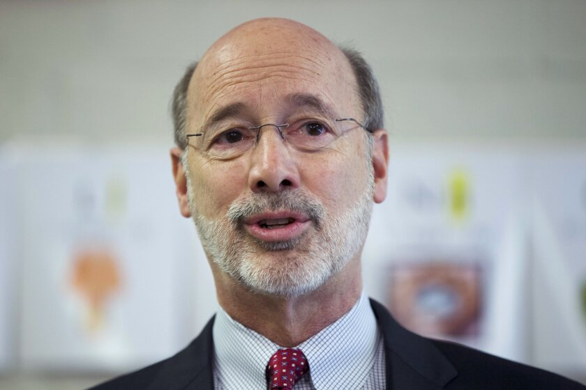 Pennsylvania Gov. Tom Wolf has blasted local officials who plan to defy his shutdown orders.