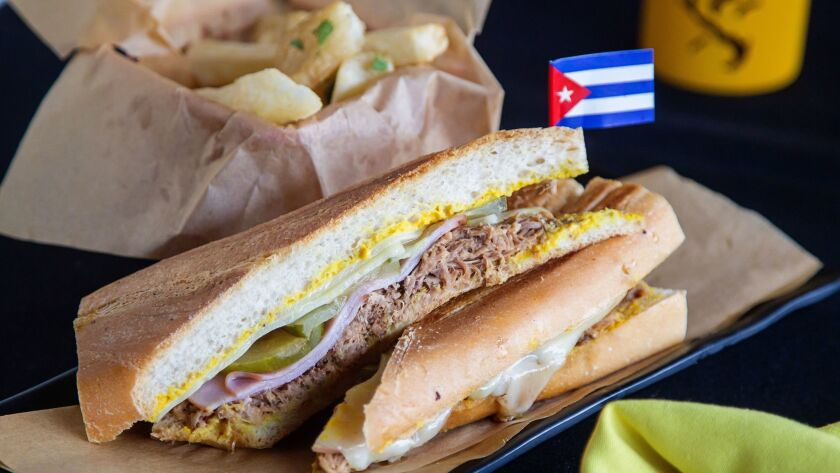 Authenticity is so important for the Cubano sandwich at Havana 1920 in the Gaslamp Quarter that the rolls are flown in weekly from a Cuban bakery in Miami.