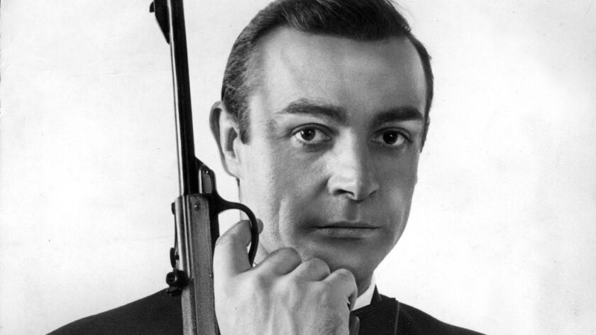 """Sean Connery as agent James Bond in the movie """"From Russia with Love."""""""