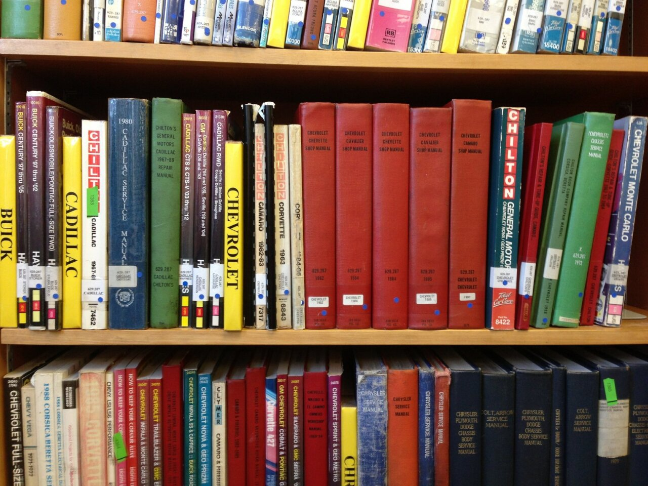The San Diego city library catalog shows 57 items that have been overdue since Nov. 14, 2002, or before. That's as far back as the database goes. The patrons who failed to return those items owe $1,122 total in fines. The guilty parties can return the items this month to take advantage of a fine-forgiveness program — half off! Page through to see books that have been overdue since November 2002 or longer, ranked by accrued fine.