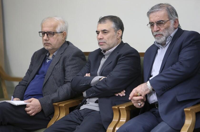 En una imagen difundida por el sitio web oficial de la oficina del líder supremo de Irán