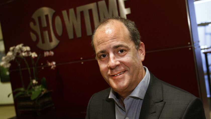 LOS ANGELES, CA., JUNE 01, 2015--Showtime chief executive David Nevins sits down for a Q&A with the