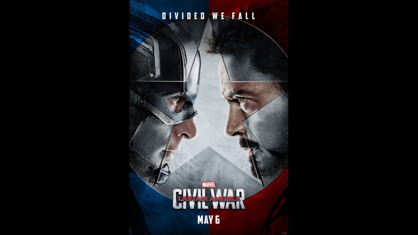 'Captain America: Civil War' poster
