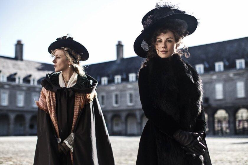 "Chloe Sevigny, left, and Kate Beckinsale in ""Love & Friendship."""