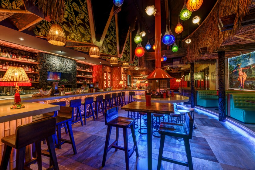 The Grass Skirt in Pacific Beach.