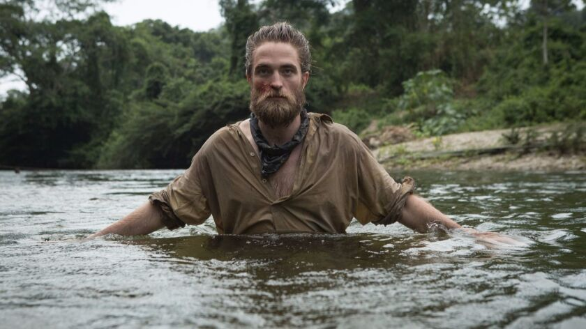 """Robert Pattinson in """"The Lost City of Z."""""""