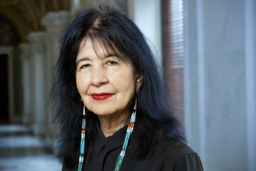 Joy Harjo appointed U.S. poet laureate, first Native American to hold the title