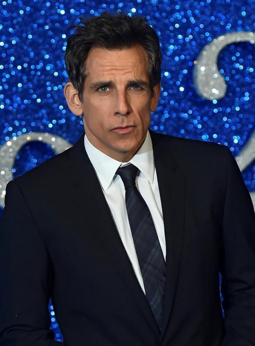 """El actor estadounidense Ben Stiller llega al estreno de la película """"Zoolander 2"""". EFE/Archivo"""