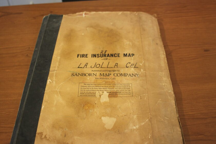 The Fire Insurance Map of La Jolla is kept in the archives.
