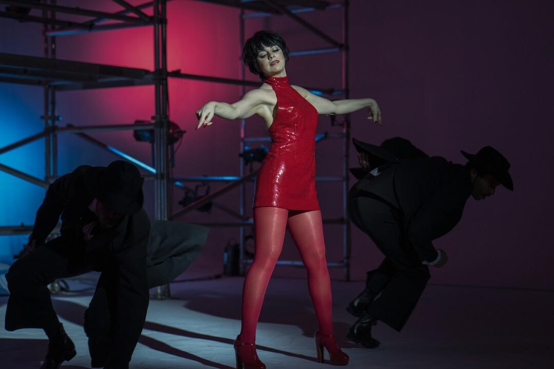 "Krysta Rodriguez as Liza Minnelli in ""Halston."""