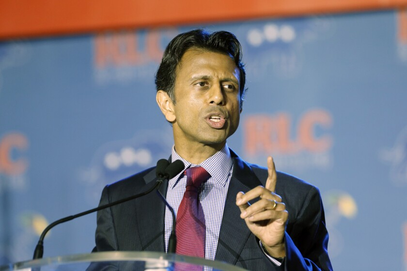 """Not too """"stupid"""" to know the oil and gas companies pay his bills: Louisiana Gov. Bobby Jindal."""