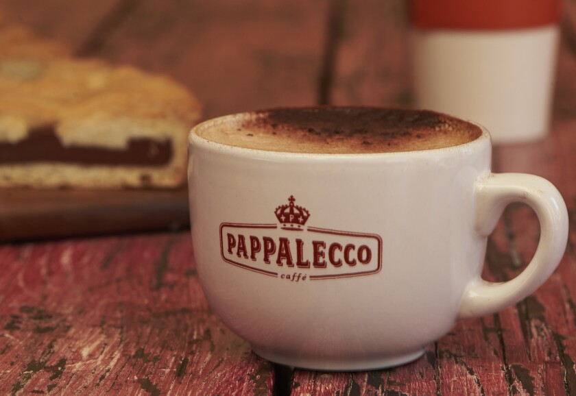 "Pappalecco serves up Tuscan coffee, described as ""music on your lips.Not too hot, not too bitter, not too weak."""