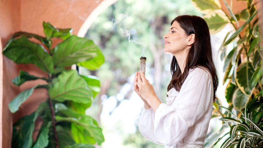 Breathwork instructor Ana Lilia.
