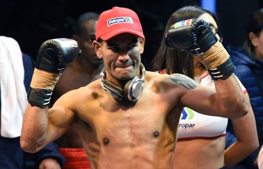 BOXING-SOUTH AMERICA-WELTERWEIGHT-PAR-BRA-MORAY-PRISON